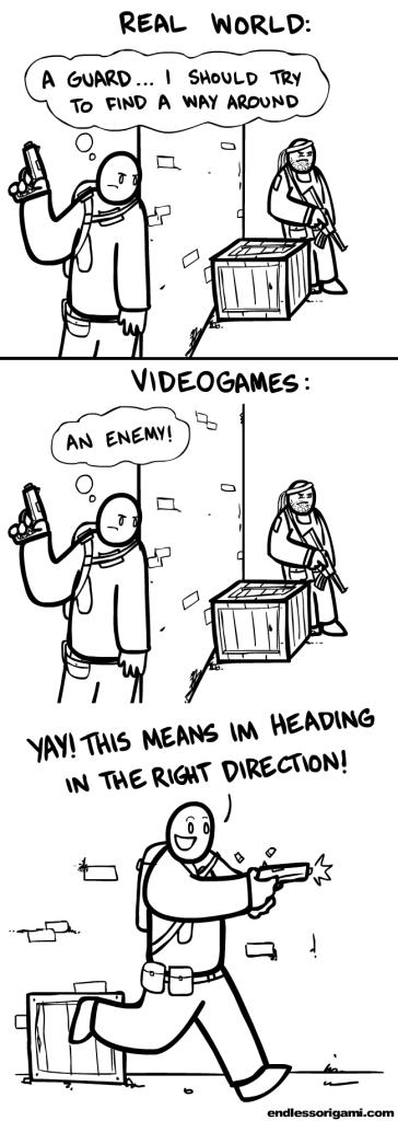 video game writer comic